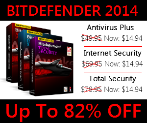 Bitdefender 2014 Discount Coupon