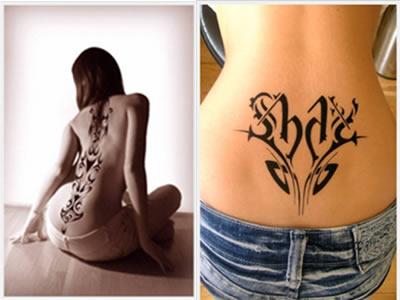 tatuajes espalda baja