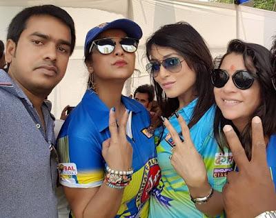 Sanjay Bhushan, Pakhi Hegde and Aanara Gupta