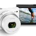 Nikon 1 J4 camera (in white)