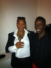 Clotheshorse meets Queen Latifah!