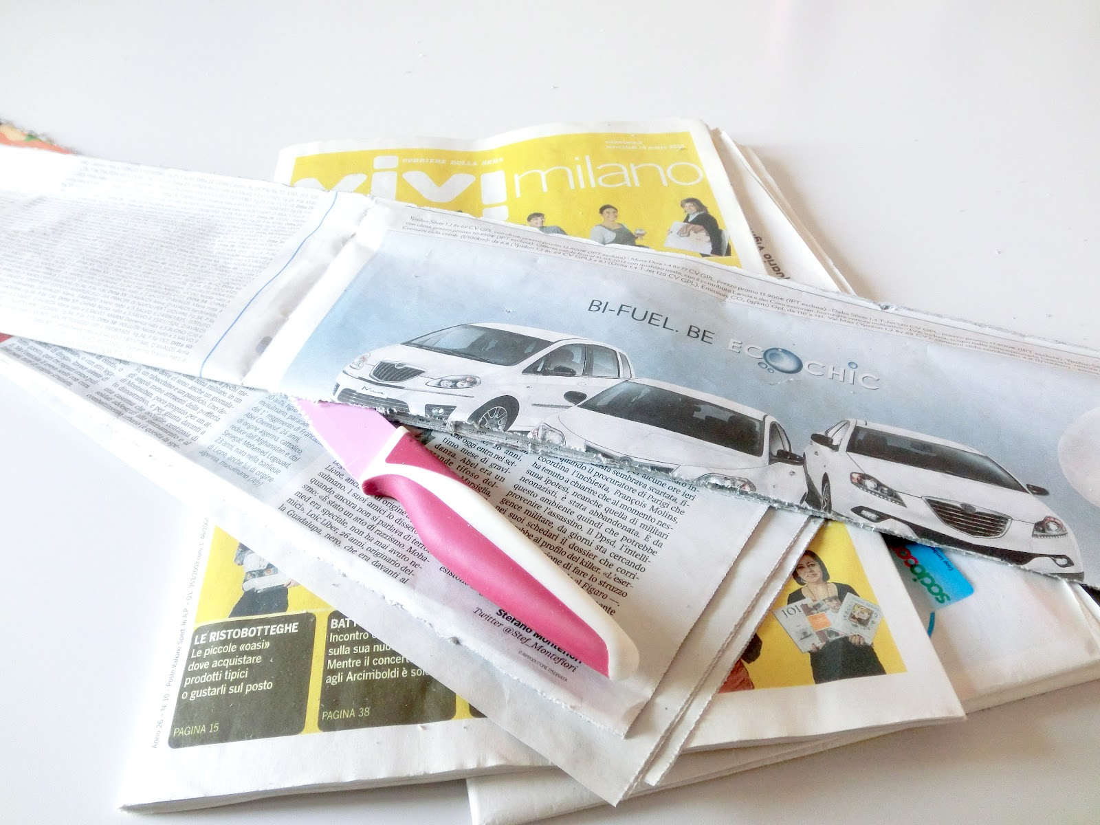 ORTOBELLO ROAD: Come creare vasetti da semina in carta di giornale ...