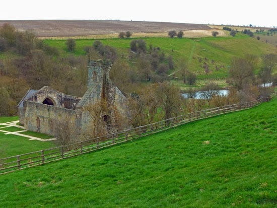 Lost villages, England, North Yorkshire, medieval burials