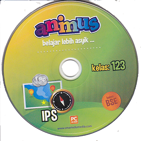 CD ANIMUS IPS KELAS 1, 2, 3 SD/ MI