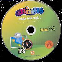 toko buku rahma: buku CD ANIMUS IPS KELAS 1, 2, 3  SD