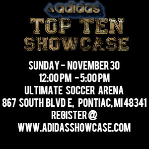 Adidas Showcase on 11/30 in Pontiac
