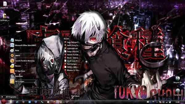 Tokyo Ghoul ( Theme Win  7) 1