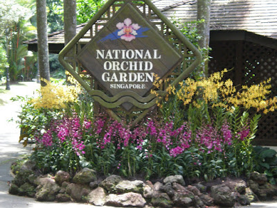 Singapore National Orchid Garden Rolling Writes