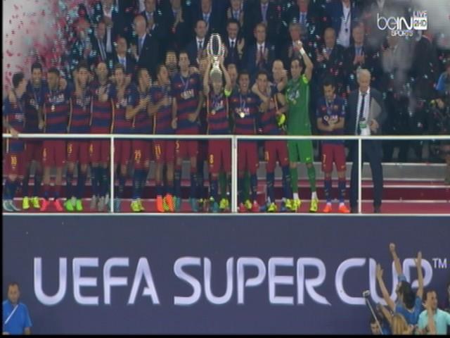 اهداف مباراة برشلونة 5-4 اشبيلية || كأس السوبر الاوروبي HD الاهداف كاملة