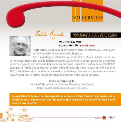 Alenyà 06/04/2012 Homenatge a Jordi Pere Cerdà