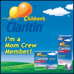 I'm a Claritin Mom