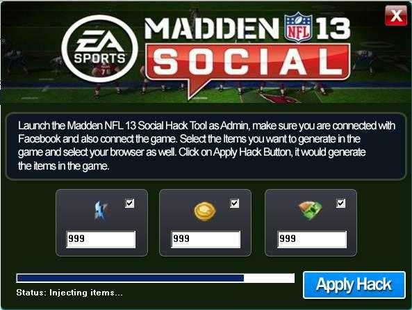 Coins click for details free madden nfl 13 social coins generator hack