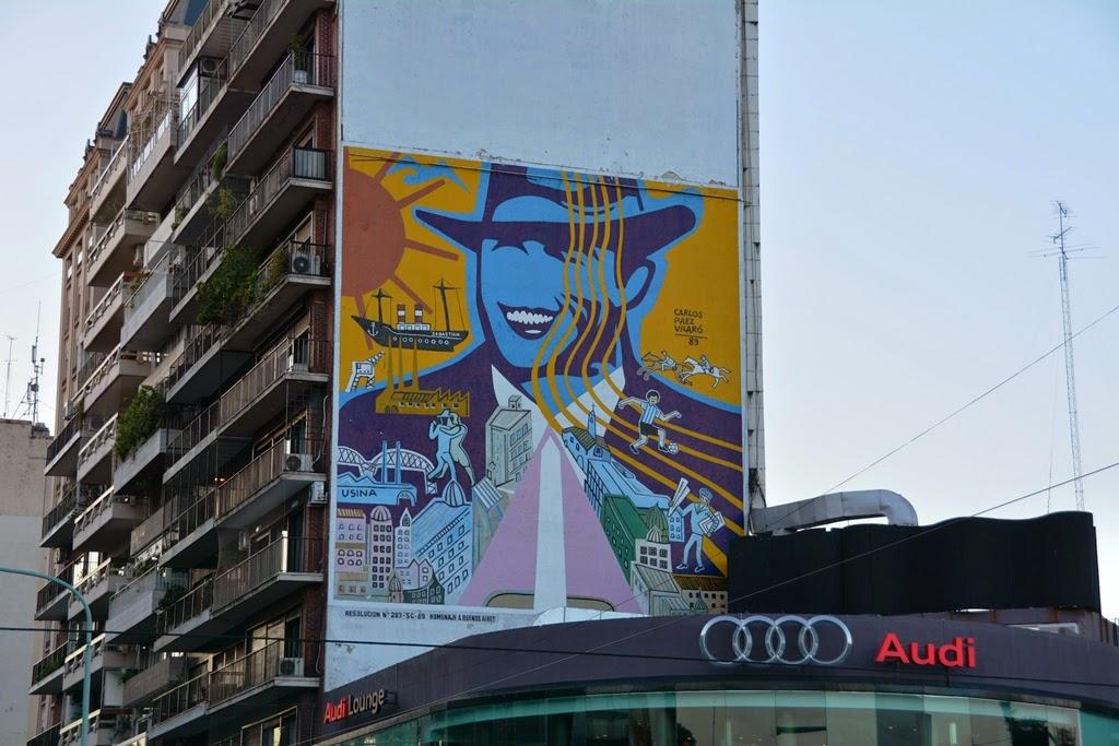 Graffiti Buenos Aires Audi