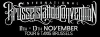 I'll be working at the International Brussels Tattoo Convention 2016