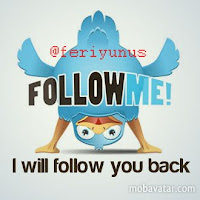 @feriyunus - Follow me and I will follow you back