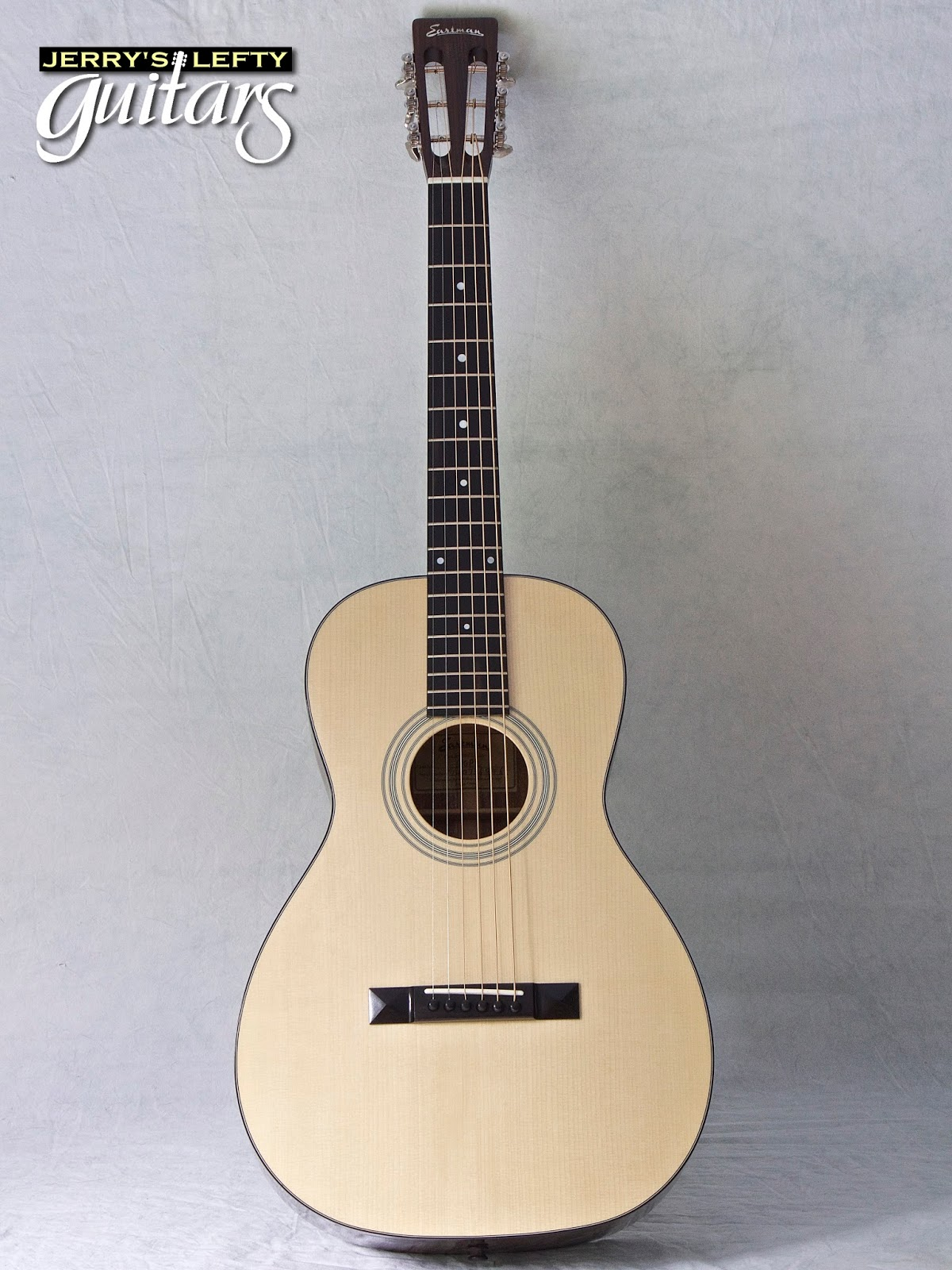 Jerry U0026 39 S Lefty Guitars Newest Guitar Arrivals  Updated Weekly   Eastman E10p Left Handed Parlor