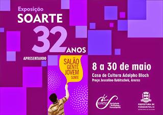 32º Aniversário da SOARTE- Sociedade dos Artistas de Teresópolis