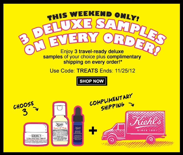 Black Friday Weekend Offer (FREE 3 Deluxe Samples + Free Shipping