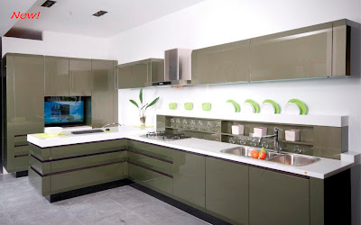 Contemporary European Style Modern Kitchen Cabinets