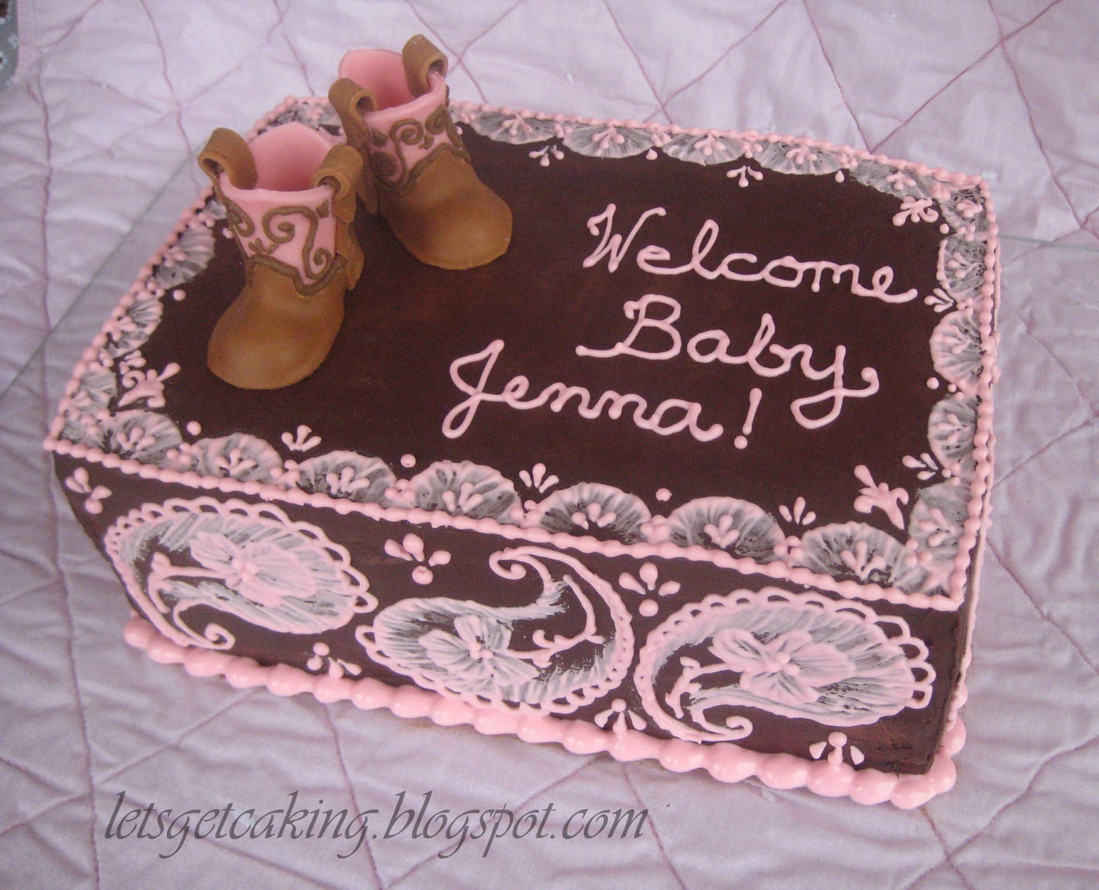 Let\'s Get Caking!: Welcome, Baby Jenna!