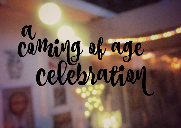 A coming of age celebration: turning 13