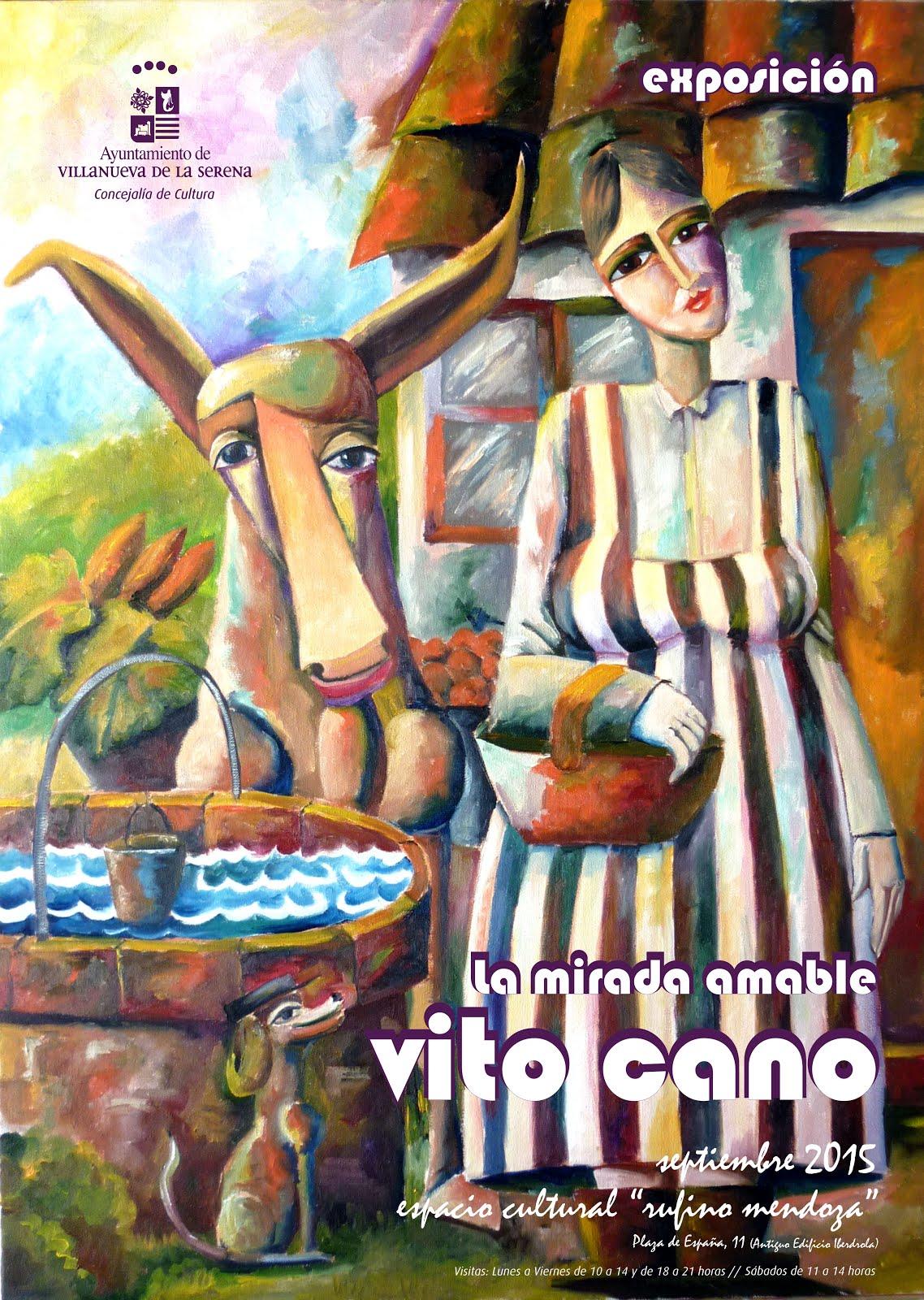 Exposición La Mirada Amable de VIto Cano