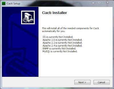 cacti installer windows