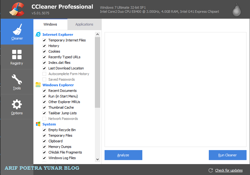 CCleaner Professional & Business 5.01.5075 Terbaru Full Crack