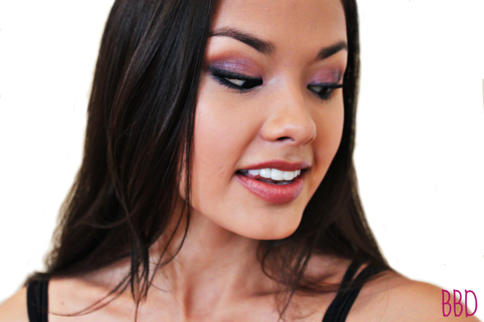 LOTD: Look of the Day, Purple Neon Duochrome Smokey Look the beauty breakdown