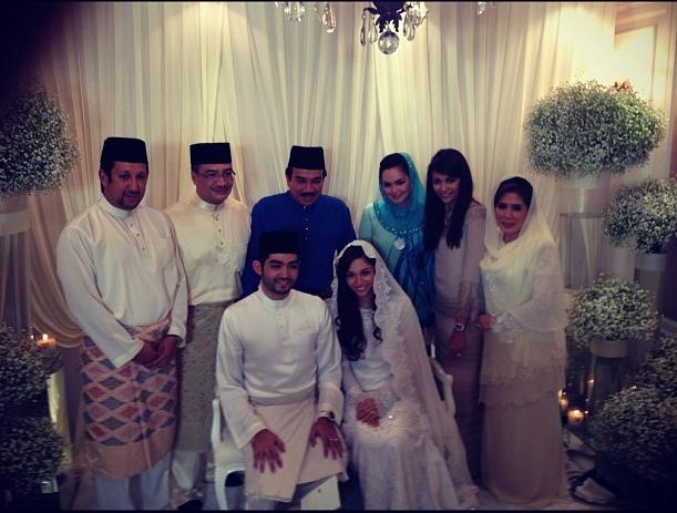 Anak Tiri Dato Siti Nurhaliza, Dato Siti Nurhaliza dan Dato K,Tengku Zawiyah, Bekas Isteri Dato K, Dato' Seri Hishammuddin bin Tun Hussein, Datin Seri Marsilla Tengku Abdullah, Anak Dato' Seri Hishammuddin bin Tun Hussein,