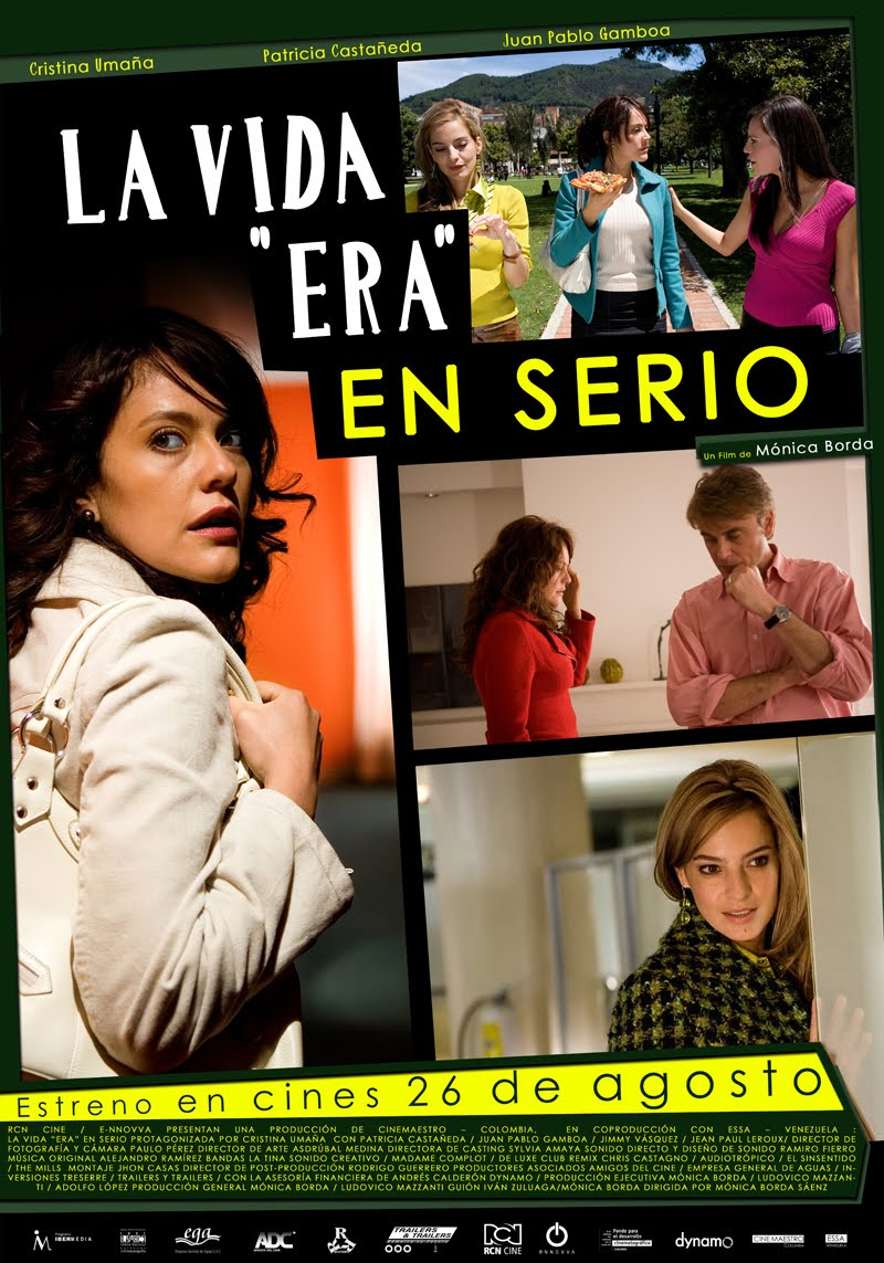 La vida era en serio movie