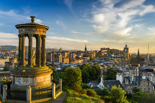 Edinburgh hotspots