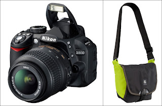 nikon d3100 and crumpler four million camera bag