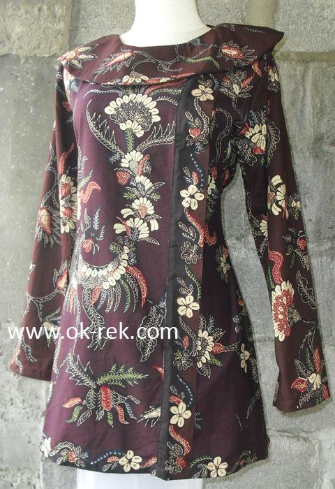 Blus Batik Pilihan - Model terbaru : murah