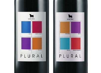 Etiqueta Vino Plural