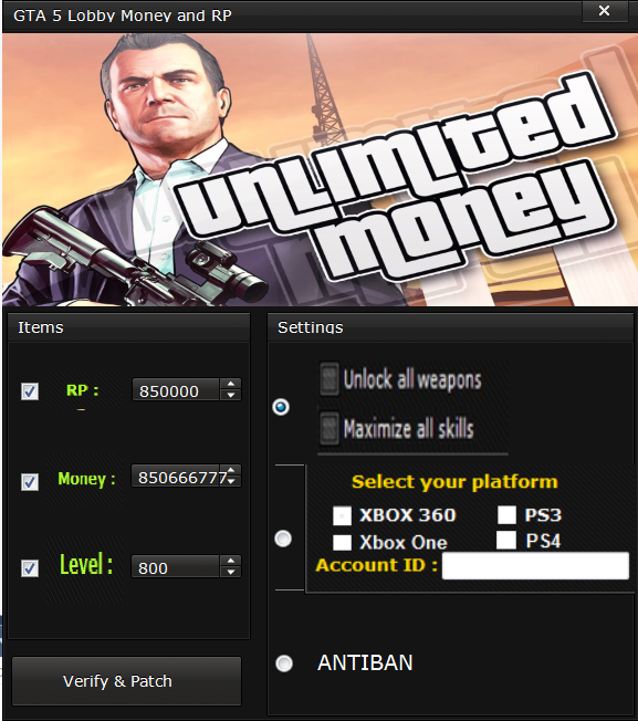 gta 5 ps4 hack money lobby