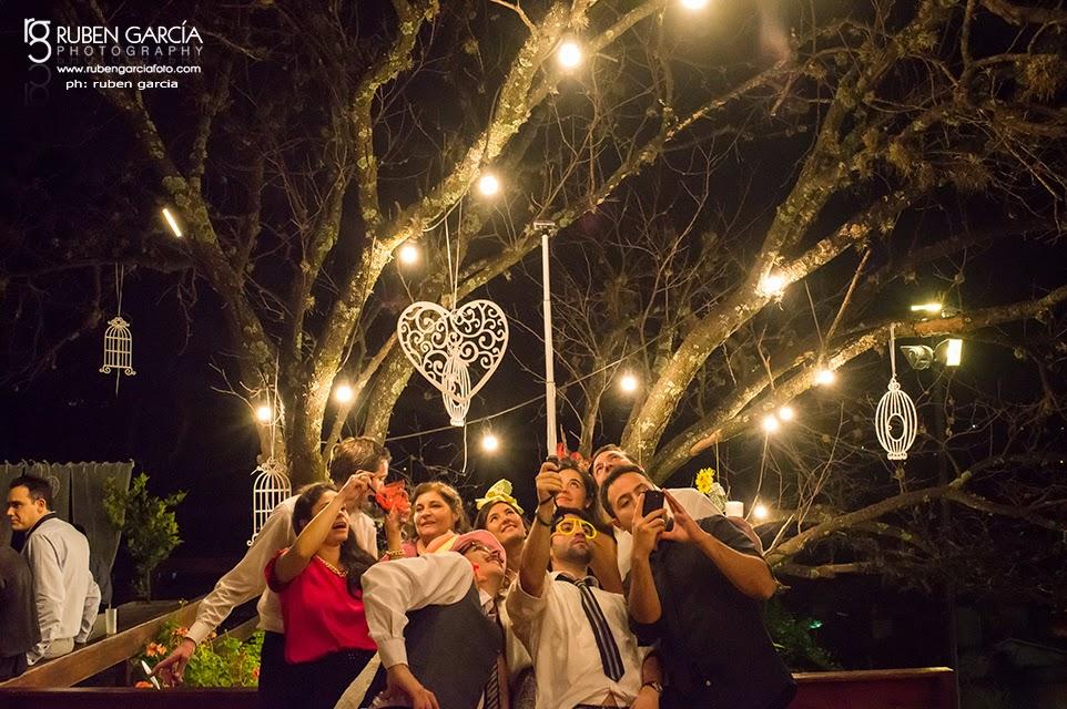 fotografo ruben garcia, selfie, invitados novios, hotel villegas, rio ceballos