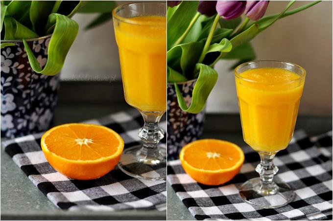 koktajl, mango, pomarańczowy, przepis na