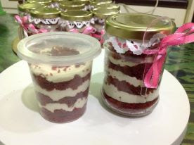 Cake In Jar / RV In Jar Bajet