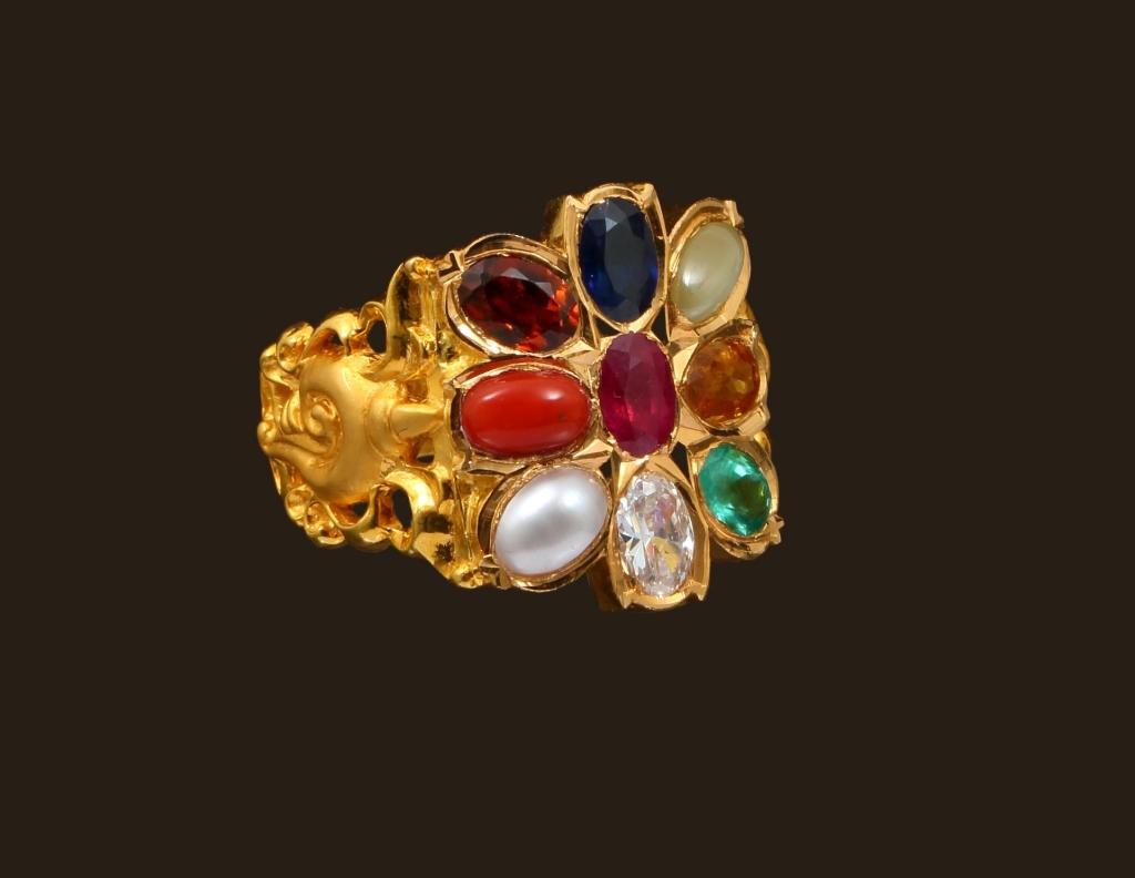 Local Fashion Navaratna Jewelry