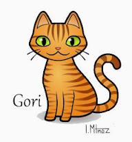 Gori, el gato guardián.