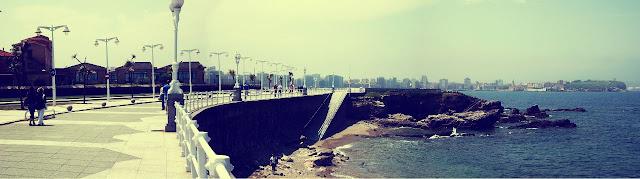Gijón paseo marítimo