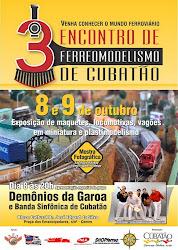 3º Encontro de Ferreomodelismo de Cubatão