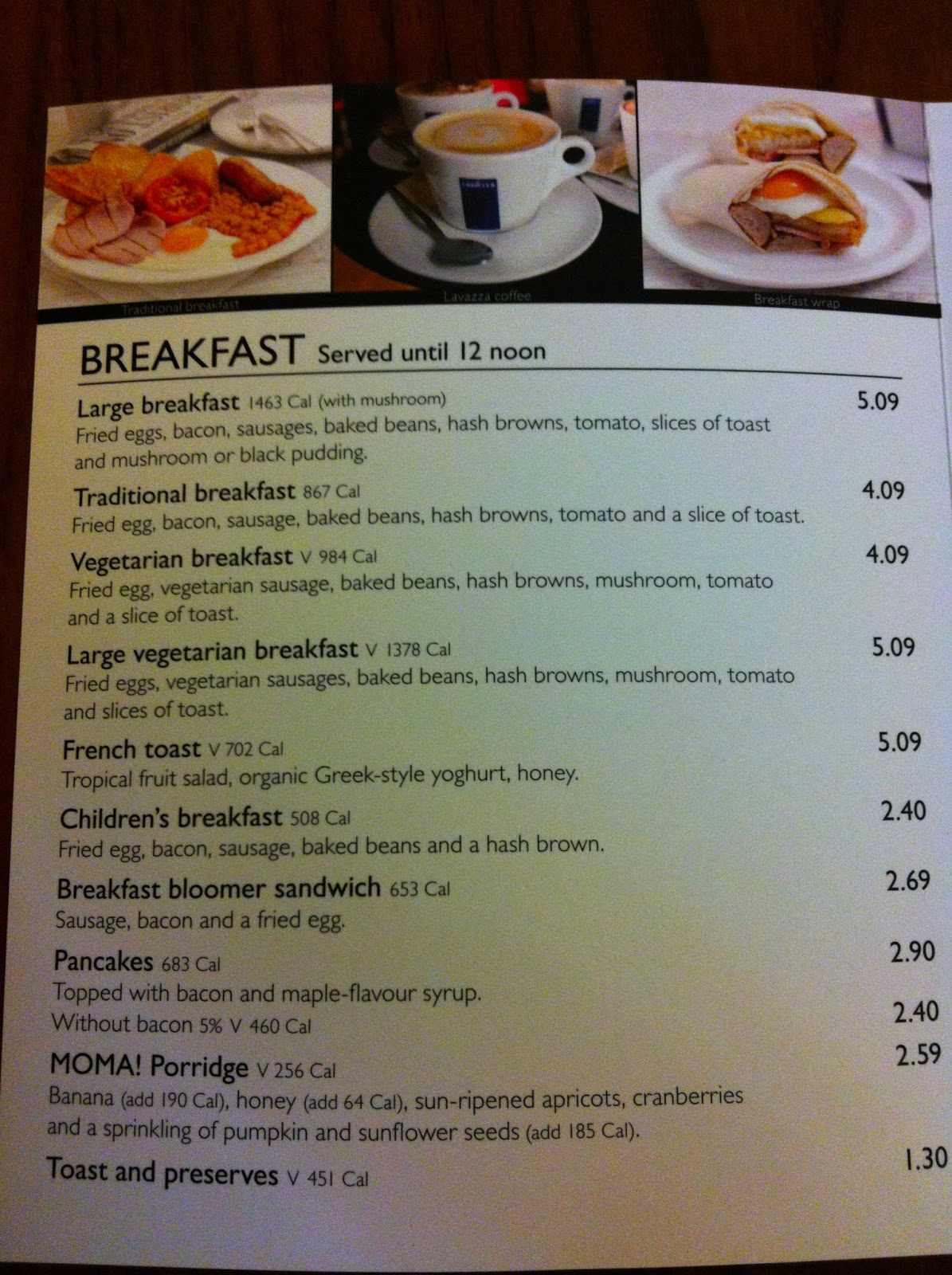 The Fry up Inspector: March 2013