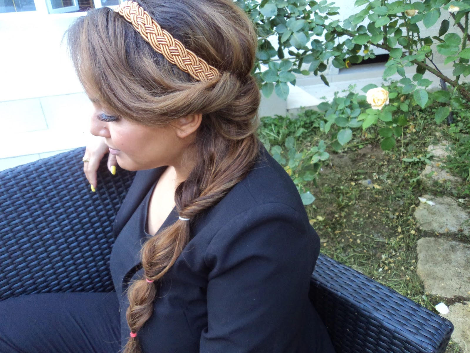 Chicissime Beaute 3 Coiffures Originales Pour La Rentree Avec Headband