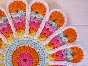 Flower Potholder Tutorial