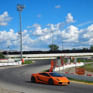 Lamborghini Gallardo Superleggera su pista