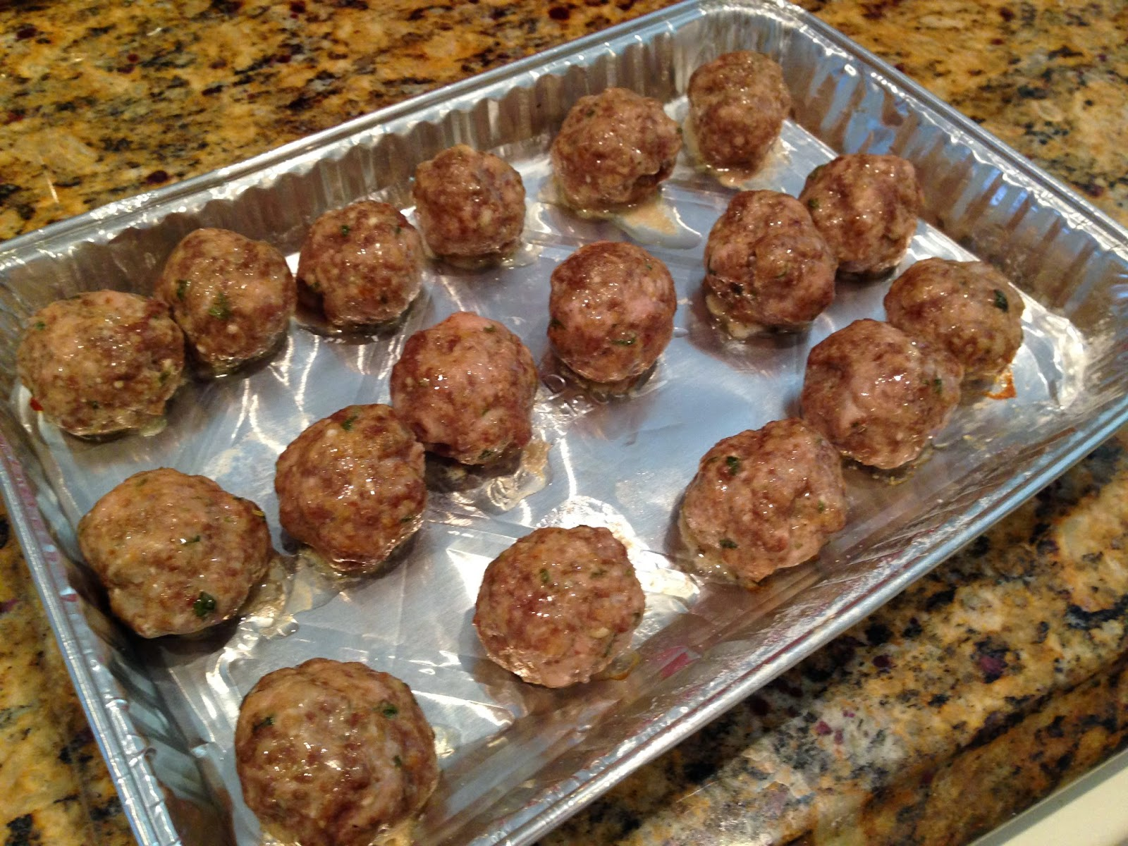 how to cook meatballs in the oven uk