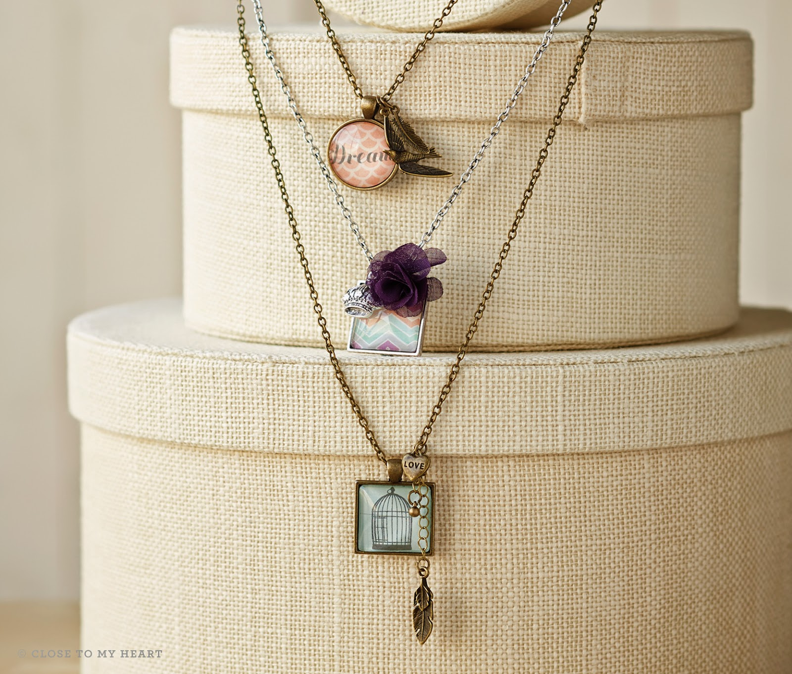Make Your Own Necklace Pendents