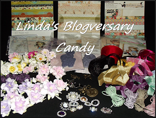 Lindas ONE yr. Blogversary candy